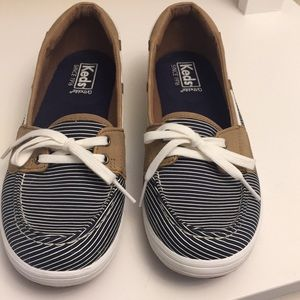 Keds ortholite Glimmer Boat Shoes